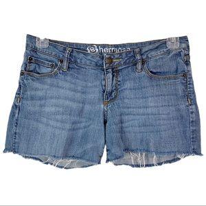 "🎀3/$20 Bullhead ""Hermosa"" Denim Cut Off Shorts 11"